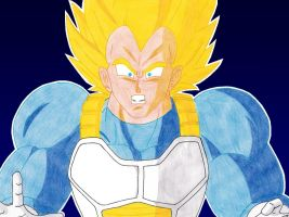 SUPER VEGETA by Chase-TH