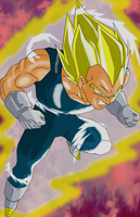 Vegeta SSJ2 by MrEpicDrawer