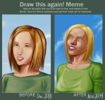 Draw this again blonde by clvago