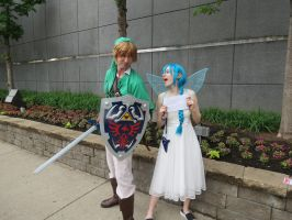 Link and Navi by scoldingspirit84