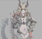 Chimera Monster Girl (WIP) by Inbunche