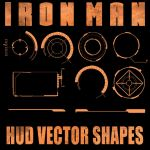 Ironman HUD Shapes for PSP by Retoucher07030
