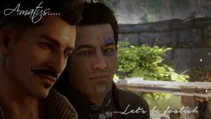 Dorian/Trevelyan by IntelligentWolf