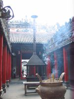 Chinese Temple Stock 5 by soulside-wanderer