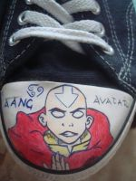 Fan shoes - Aang by Catharaa