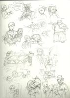 YC-According To Plan: sketches by InYuJi