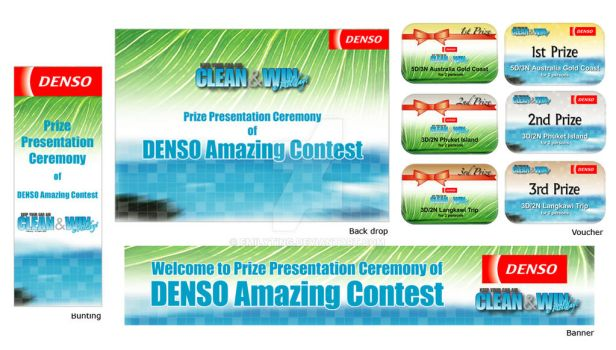 Denso Clean and Win Contest by emilyting