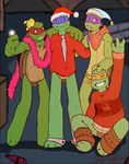 TMNT picture: New Year 2016 by SugarUP