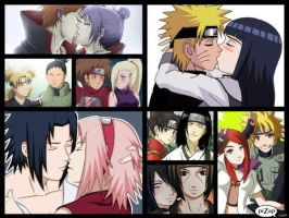 Naruto Couples by lunaheartneel16