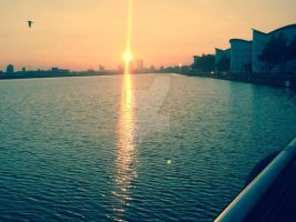 London Sunset by AmieLouisePhotograph
