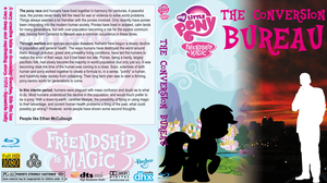 MLP:FiM: TCB - Blu ray cover by MyLittleBrony
