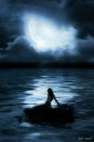 Mermaid in the Moonlight by nikkidoodlesx3