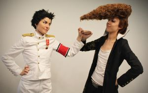 Ishimaru and Mondo by Pahisman