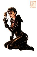 Cat Woman by Atzinaghy
