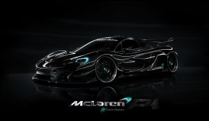 Mclaren P1- HRE P41- RA Graphics by RA-Graphics