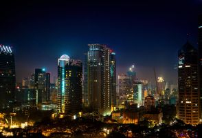 Night in Bangkok by IHEA