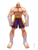 SFtribute_Sagat by satanasov