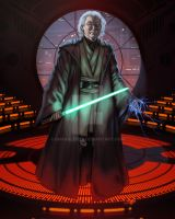 Jedi Master Michio Kaku Color by Gnargleboy