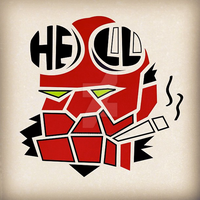 Hell Boy by CreativeCamArt