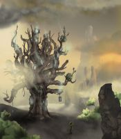 Polomai and the Mollusk Tree by Sweat-Box