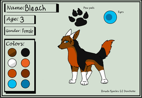 Bleach as a pup 1 by BleachTheNight