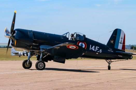 Chance Vought F4U-7 Corsair by Daniel-Wales-Images