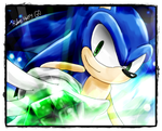 Re. Sonic ::. Green Emerald by HappyGaOn