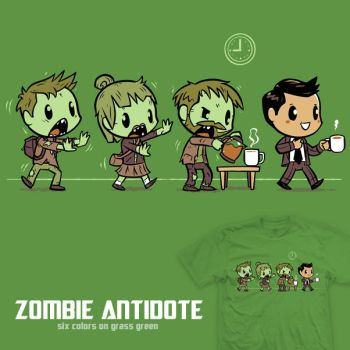 Zombie Antidote - tee by InfinityWave
