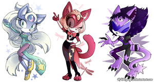 ~Fusion Cats~ by CNWgraphis