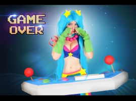 Arcade Sona - Game Over by EviiCosplay