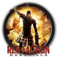Red Faction Guerrilla Icon by kodiak-caine