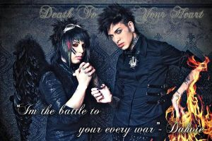 Dahvie and Jayy by XxMfPrincessxX