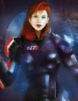 Shepard by Chritical