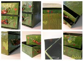 Uneven Jewellery Items Box by Adelaida