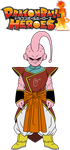 DB Heroes - Majin Buu: Pure (Kibitoshin Absorbed) by The-Devils-Corpse
