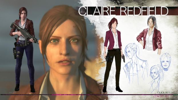 Claire Redfield by homiecloud