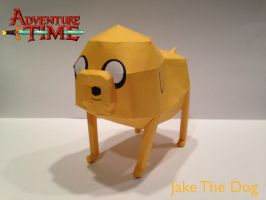 Jake The Dog Papercraft by poethetortoise
