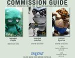commission guide by samdejesus