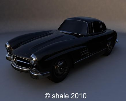 1954 Mercedes 300SL by shale1