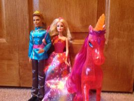 My barbie and the secert door dolls by unicornsmile