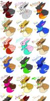 Attack of the DA eevees part 1 by min-mew