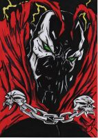 spawn portrait masked by darkartistdomain