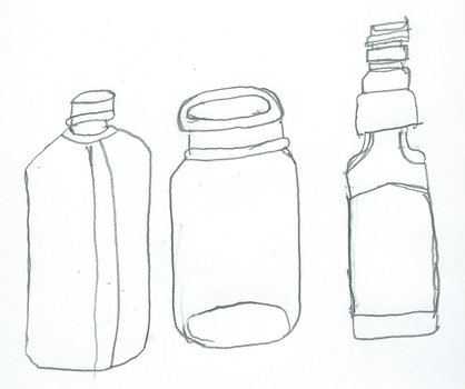 Two Bottles and A Jar by JacktheCat779