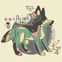 [Pup] Aline by lithxe