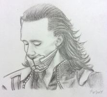 Loki Portrait by mashaheart