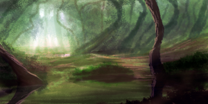 Forest Speedpaint by JKRoots