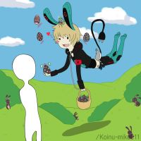 Collab|| KoiShi -Floating easter- by K01NU
