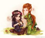 The Hobbit: Flower Crowns by Fiveonthe