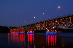 The bridge at night 2 by Su58
