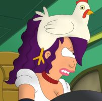 I Guess It's Just Me And You, Chicken Hat by MegBeth